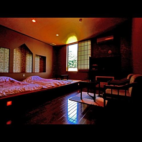 【お部屋】お目覚めに窓をあけると片品村の自然が眺められます