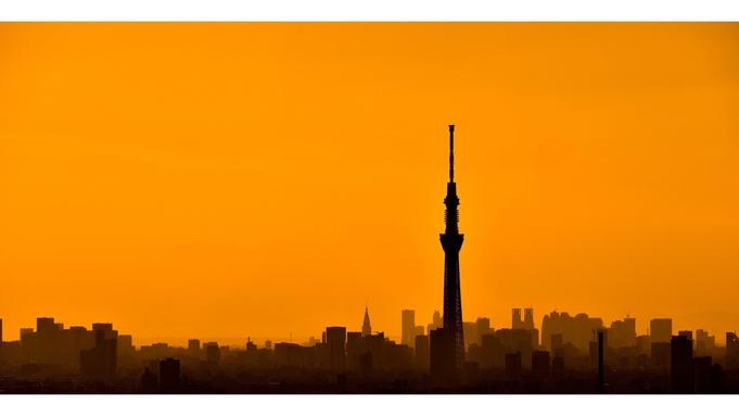 【高層17階以上】大人気☆東京スカイツリー(R)サイド確約プラン☆バスルームからも夜景が楽しめます♪