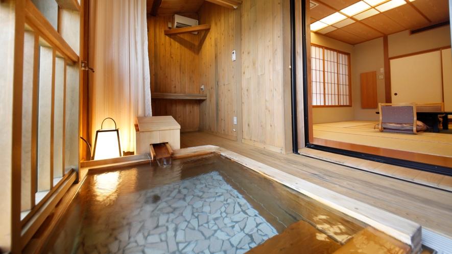 102号室【山桜の間】温泉付き和室
