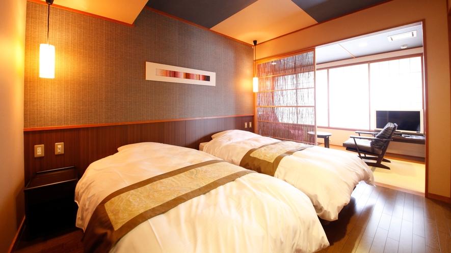 403号室【萩の間】バリアフリー和洋室