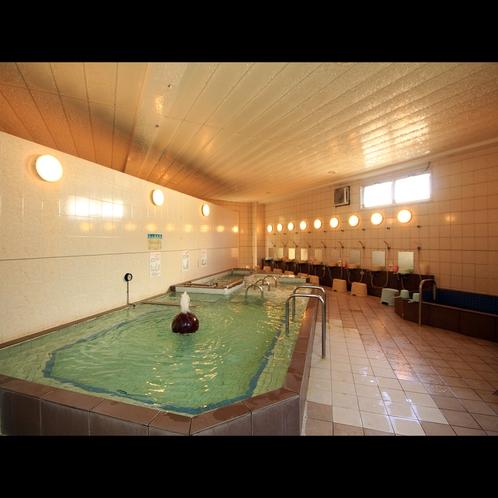 【浴場】日帰り入浴で日中は地元のお客様も通う健康増進をテーマにしたお風呂
