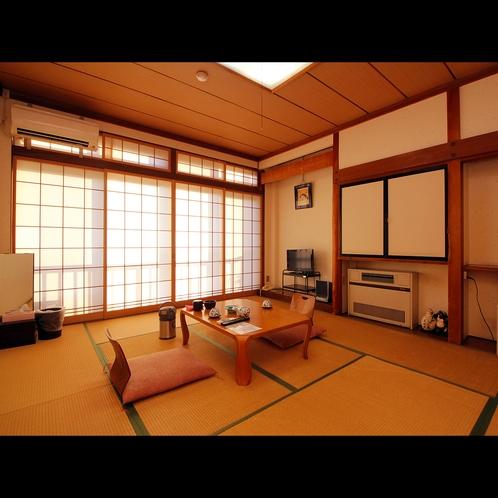 【客室8~10畳】ゆったり贅沢♪10畳+踏込の客室タイプは当館人気No.1!ご予約はお早めに