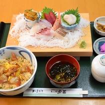 松川浦定食一例