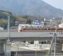 お部屋からの眺め(駅側)