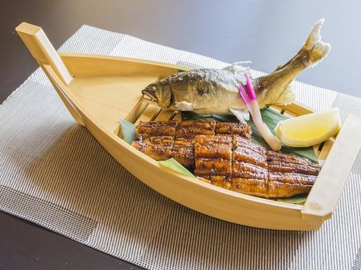 ◆松葉川温泉プレミアプラン◆極上の逸品料理と地酒。特別貸切風呂付〜四万十の鰻と天然鮎、黒毛和牛〜