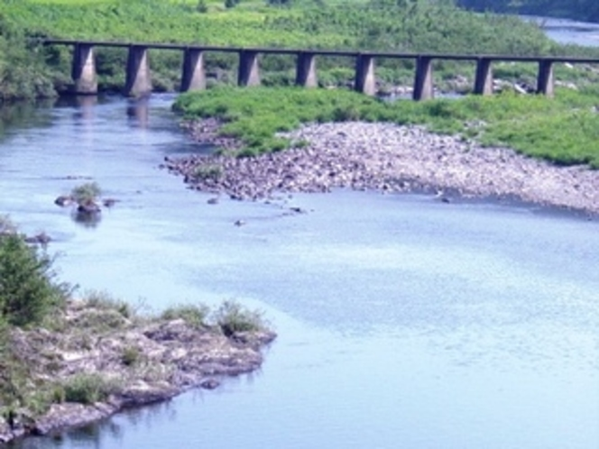 清水沈下橋