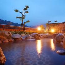 【露天風呂-山の湯】