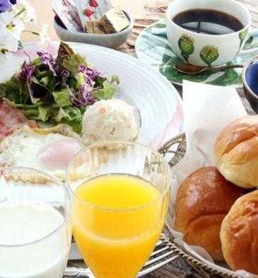 ◆チェックイン21時まで可◆ 大自然に肌で感じ清々しい朝食を♪1泊朝食付プラン
