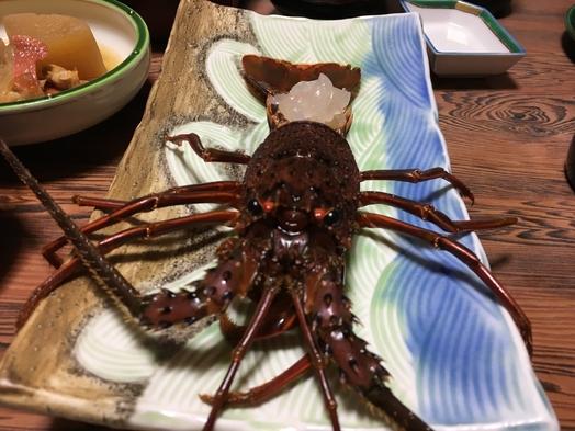 【伊勢海老刺し付き!!】天然地魚ふんだんに豪華舟盛り付き2食プラン!!