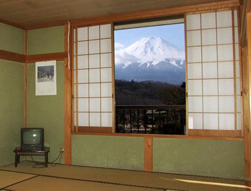 富士山の見えるお部屋