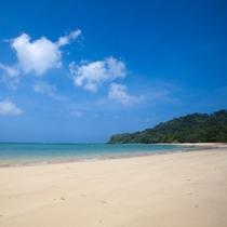 *【干立の海(マイヌハマ)】管理用より徒歩2分!すぐ傍には真っ白な浜辺が広がっています。