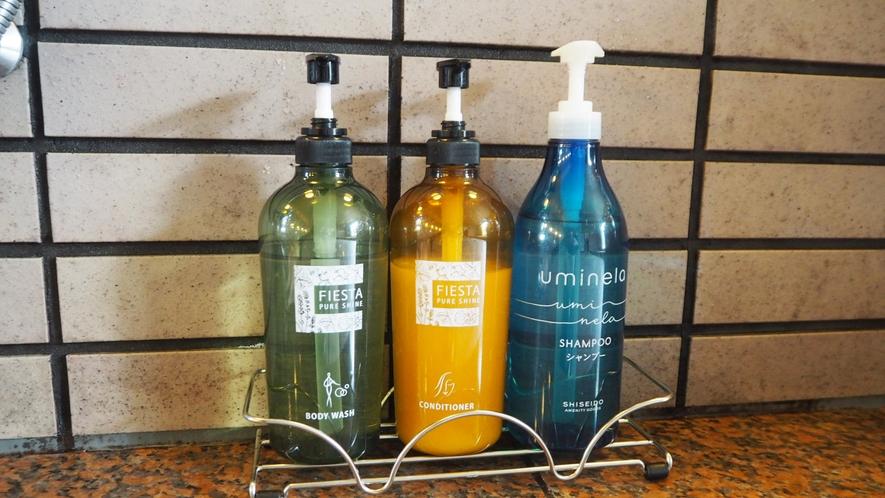 *お風呂アメニティ/資生堂の『uminela』緑藻エキスが頭皮や肌を健やかに♪