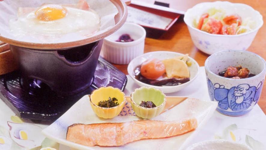 *【朝食/一例】元気の源は朝食から!元気に食べていってらっしゃい♪
