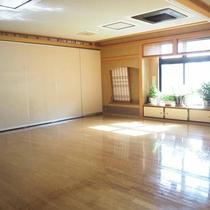 *大広間/広々としたお部屋は団体様用の部屋となります。