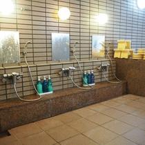 *洗い場/広々とした洗い場です。