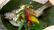 *【夕食/一例】季節の焼き魚。旬の山の恵み・川の恵みをご堪能下さい。