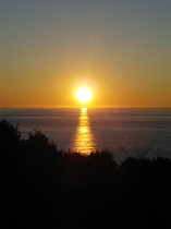 マンダリーネからの夕陽 ≪12月≫