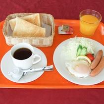【朝食】洋食一例
