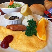 【ご朝食 洋食一例】事前にご希望をいただければ洋朝食でのご用意も可能です♪