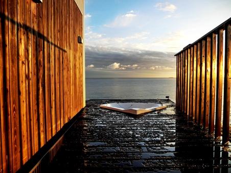 露天風呂付きコンドミニアム風離れ・プレミアムオーシャンルーム