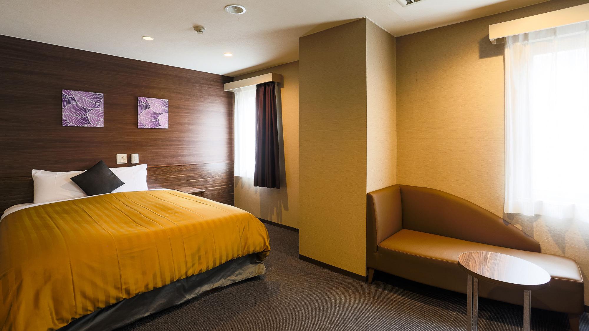 【客室一例】スーペリアダブル(ベッド幅160190cm)