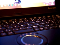 ノートPC。全室無線LAN対応!