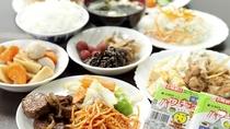 【無料朝食一例】手作りおふくろの味!朝からお腹いっぱいお召し上がりください
