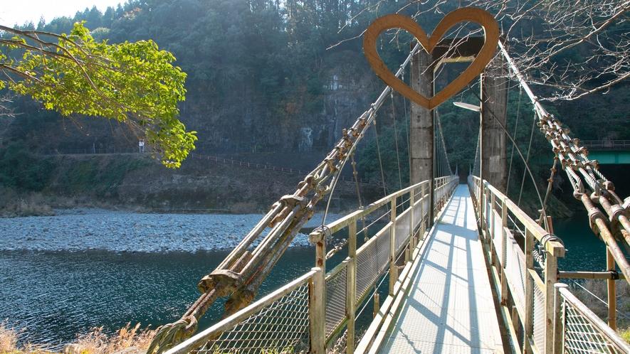 【周辺】橋を渡って照葉樹林を歩いて、綾の森を堪能&リフレッシュ♪