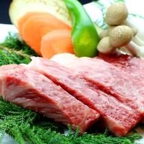 牛肉の熔岩焼き