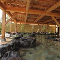 【甲賀温泉やっぽんぽんの湯】露天岩風呂で、爽やかな滋賀の風を感じて下さい♪