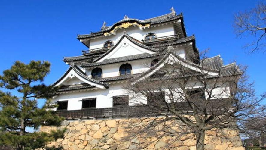 *【彦根城】ホテルから車で約70分