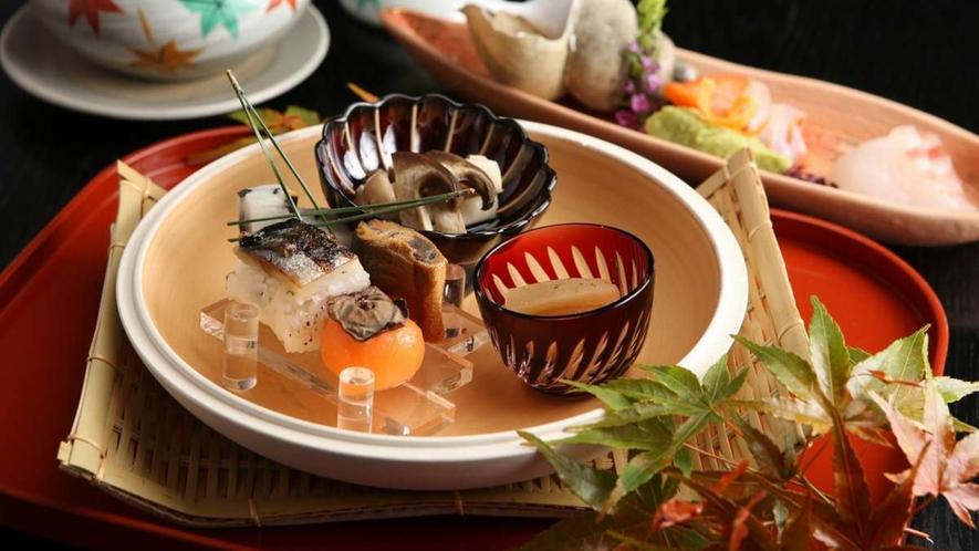 *【山里会席コース】お料理一例