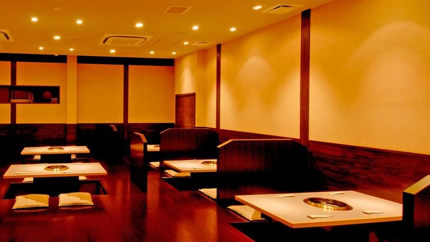 *【斎王】「無煙ロースター」を完備した本格レストラン