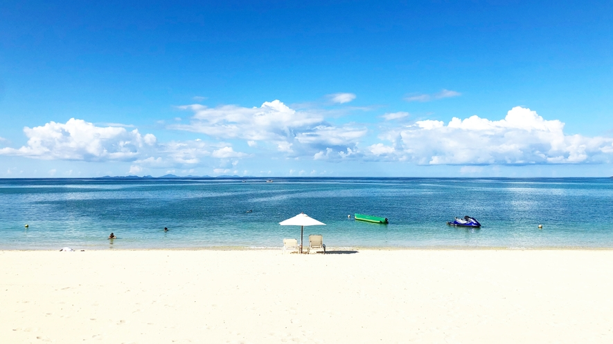 美しいウッパマビーチ
