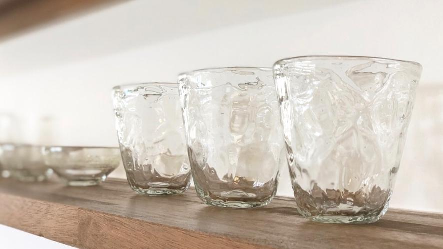 吹きガラス工房彩砂の琉球ガラス