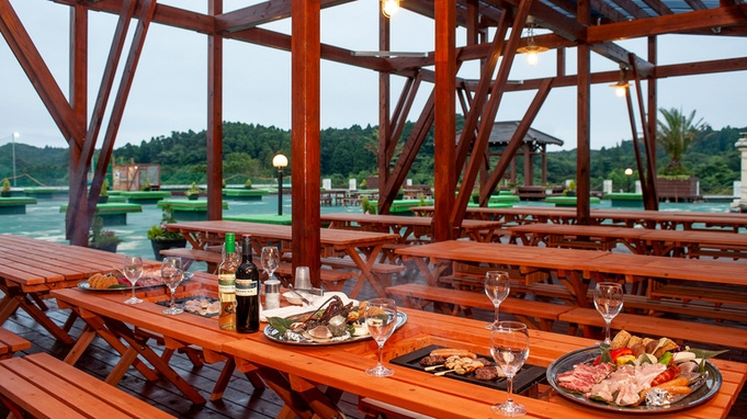 ≪ガーデンBBQ≫ ★2食付★お夕食はNaturalBBQをガーデンスペースで楽しむ首都圏☆おすすめ