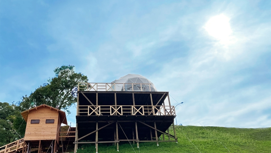DOME TENT Glamping@展望