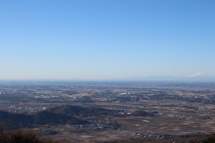 眺望(スカイツリーと富士山)