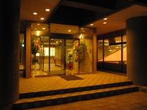 ホテル夜景の外観
