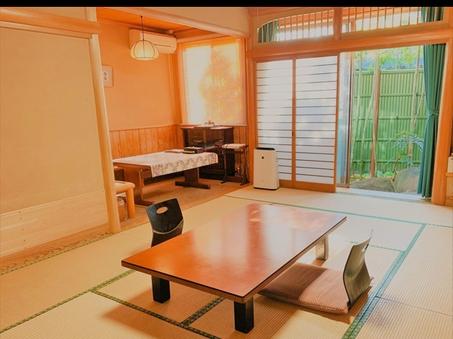 10畳以上本間+温泉露天+箱庭 1階客室〜福寿103〜