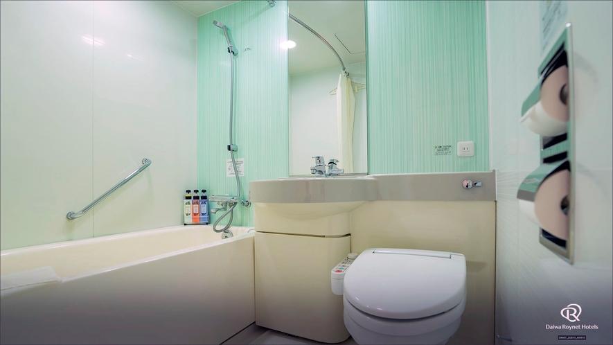 スタンダードダブルルームバスルーム