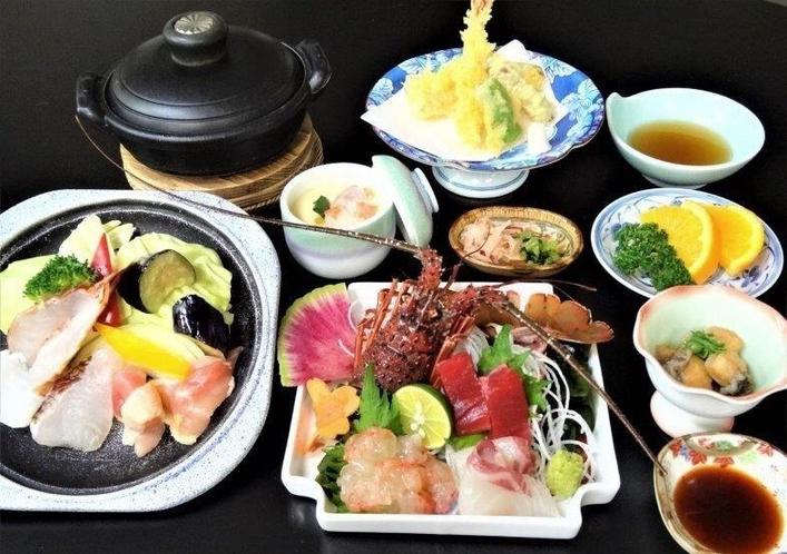 徳島県民限定プラン伊勢海老料理