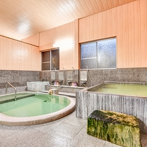 *【大浴場:女湯】湯上り後もお肌がしっとり潤う!美肌の湯としても名高い紫尾温泉。