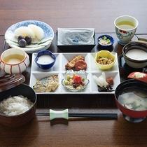 *【朝食一例】カラダに優しい和定食をご用意致します。