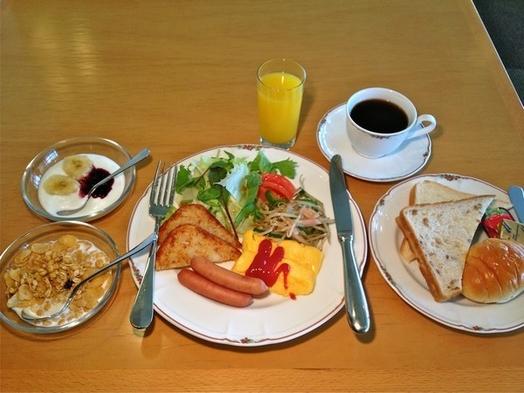 【朝食付きプラン】白馬連山を眺めながらゆっくりとご朝食を