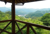 世界の山小屋 景色