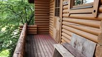 ・世界の山小屋「ノルウェー」デッキ