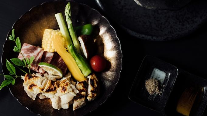 【朝夕お部屋食】『くまもとあか牛』と『博多華味鳥』のW溶岩焼プラン(添い寝無料)