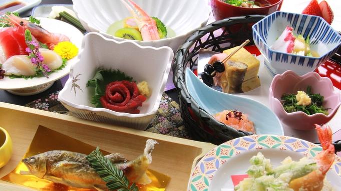 【チョイス】<お食事は個室で>馬刺し+天然鮎or山形牛陶板焼き☆贅沢料理が選べる