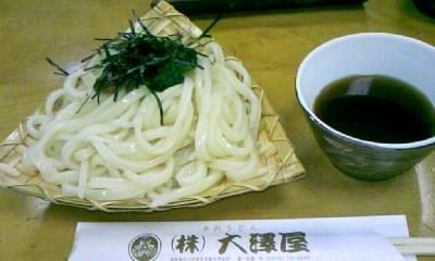 【観光】水沢うどんは日本三大うどんの一つと言われています